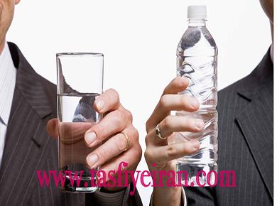 مقايسه آب معدنى با دستگاه تصفيه آب