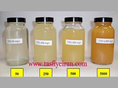 مواد جامد معلق در آب (TSS)