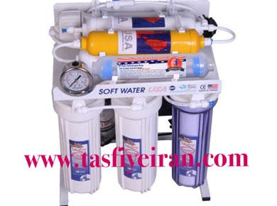 نصب دستگاه تصفیه آب سافت واتر