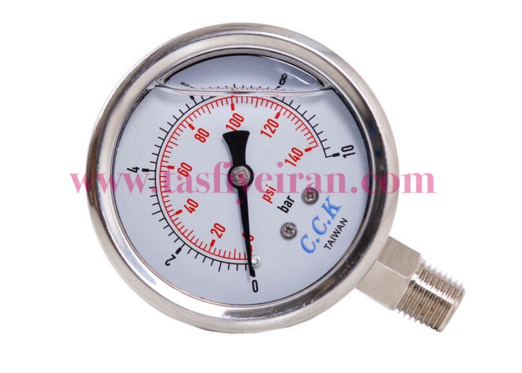 گیج فشار دستگاه تصفیه آب خانگی