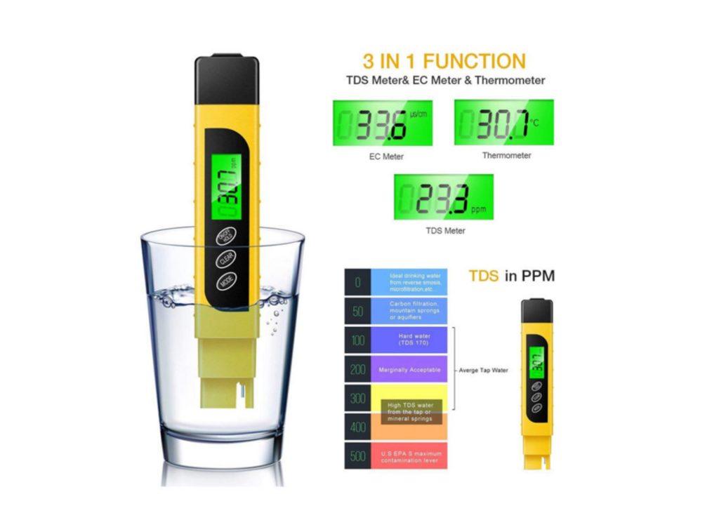 میزان TDS مطلوب آب آشامیدنی چقدر است؟