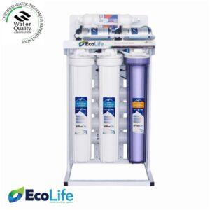 تصفیه آب نیمه صنعتی ۱۶۰۰ لیتر اکولایف